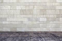 Stone wall in the city Royalty Free Stock Photos