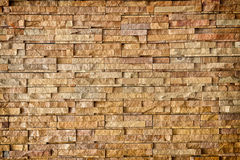 Stone wall cladding. Detail of natural stone wall cladding Royalty Free Stock Photography