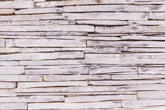 Stone wall cladding texture background Royalty Free Stock Photos