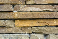 Stone wall close up Royalty Free Stock Images