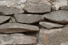 Stone wall close-up Stock Photography