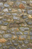 Stone wall. Close-up of a stone wall, Limburg, Germany Royalty Free Stock Images