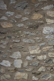 Stone wall. Close-up of a stone wall, Limburg, Germany Royalty Free Stock Photo