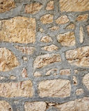 Stone wall close up Stock Image