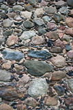 Stone wall. Close-up of an old stone wall stock photos