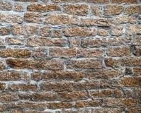 Stone wall close up in Sardinia Stock Photos