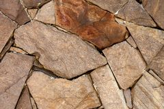 Stone Wall Close Up Royalty Free Stock Image