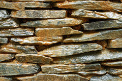 Stone wall. Close up of a wet stone wall royalty free stock image