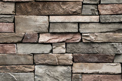 Stone wall. Closeup of a stone wall. Closeup of a stone wall royalty free stock image
