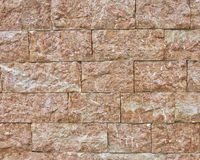 Stone wall closeup Royalty Free Stock Images