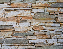 Stone wall closeup, natural background Stock Photography
