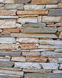 Stone wall closeup, natural background Royalty Free Stock Photography
