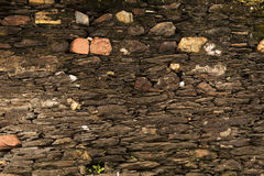 Stone Wall - 18th century Royalty Free Stock Photos