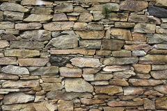 Stone Wall. Closeup of 18th century stone wall texture in the historic city of Ouro Preto, Minas Gerais State, Brazil royalty free stock photos