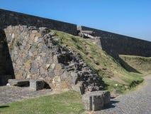 Stone Wall Colonia Sacramento Uruguay Royalty Free Stock Photos