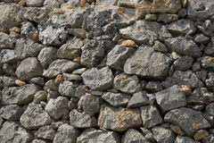 Stone wall. In countryside of South Italy Stock Photo