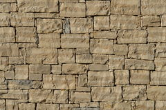 Stone wall in Croatia Stock Photo