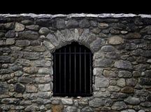 Stone wall in the dark Stock Photos
