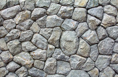 Stone wall decoration. Surface texture of stone wall decoration Stock Photography