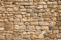 Stone wall decoration Royalty Free Stock Photos