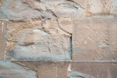 Stone wall detail Stock Photography