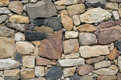 Stone wall detail Royalty Free Stock Photos