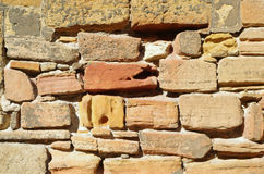 Stone wall - Detail Stock Images