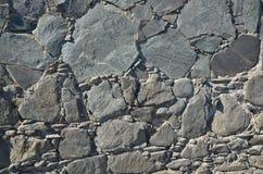 Stone wall detail Stock Photos