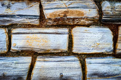 Stone wall detail Royalty Free Stock Image