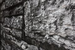 Stone Wall Details royalty free stock photography