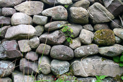 Stone Wall on the Dingle Peninsula in Ireland Stock Photos