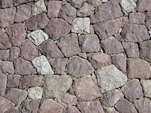 Stone Wall - Dry Set Masonry Stock Photos