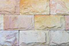 Stone wall. Durable, strong, resistant sun Royalty Free Stock Image