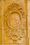Stone wall embelishments Royalty Free Stock Photo