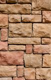 Stone Wall Facade Stock Photo