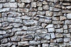 Stone wall facade. Textured pattern vintage bridge. macro view, soft focus Stock Photography