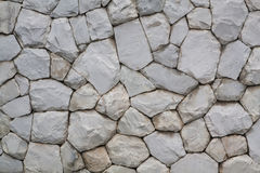 Stone wall, flat stacked Stock Images