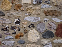 Stone wall with flint - west Sussex Royalty Free Stock Photography