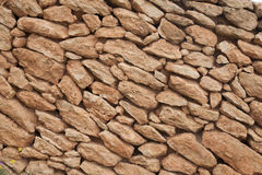 Stone Wall in Formentera; Balearic Islands Royalty Free Stock Photography