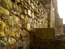 Stone wall fort fortress Royalty Free Stock Photography