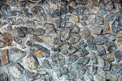 Stone wall and foundation Stock Photo