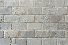 Stone Wall. Fresh Stone Wall Background with Plenty of Copy Space Stock Photo