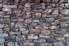 Stone Wall Fund Reddish Stock Photography