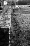 Stone Wall - Glenrothes Landmarks Stock Photography