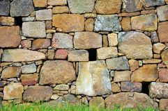 Stone wall. Good for background Stock Images