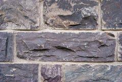 Stone wall grey brick stones texture background.  royalty free stock photography