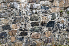 Stone wall. Grey stone wall grey stone wall Royalty Free Stock Photography