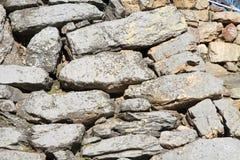 Stone wall of Hamamatsu castle in Hamamatsu, Shizuoka Royalty Free Stock Photo
