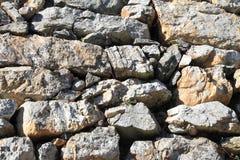Stone wall of Hamamatsu castle in Hamamatsu, Shizuoka Stock Images