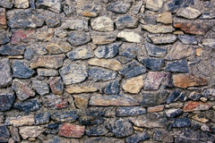 The stone wall Royalty Free Stock Photos